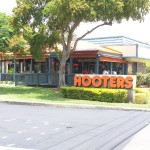 Sunrise Hooters Dining Area with a high pressure misting system.