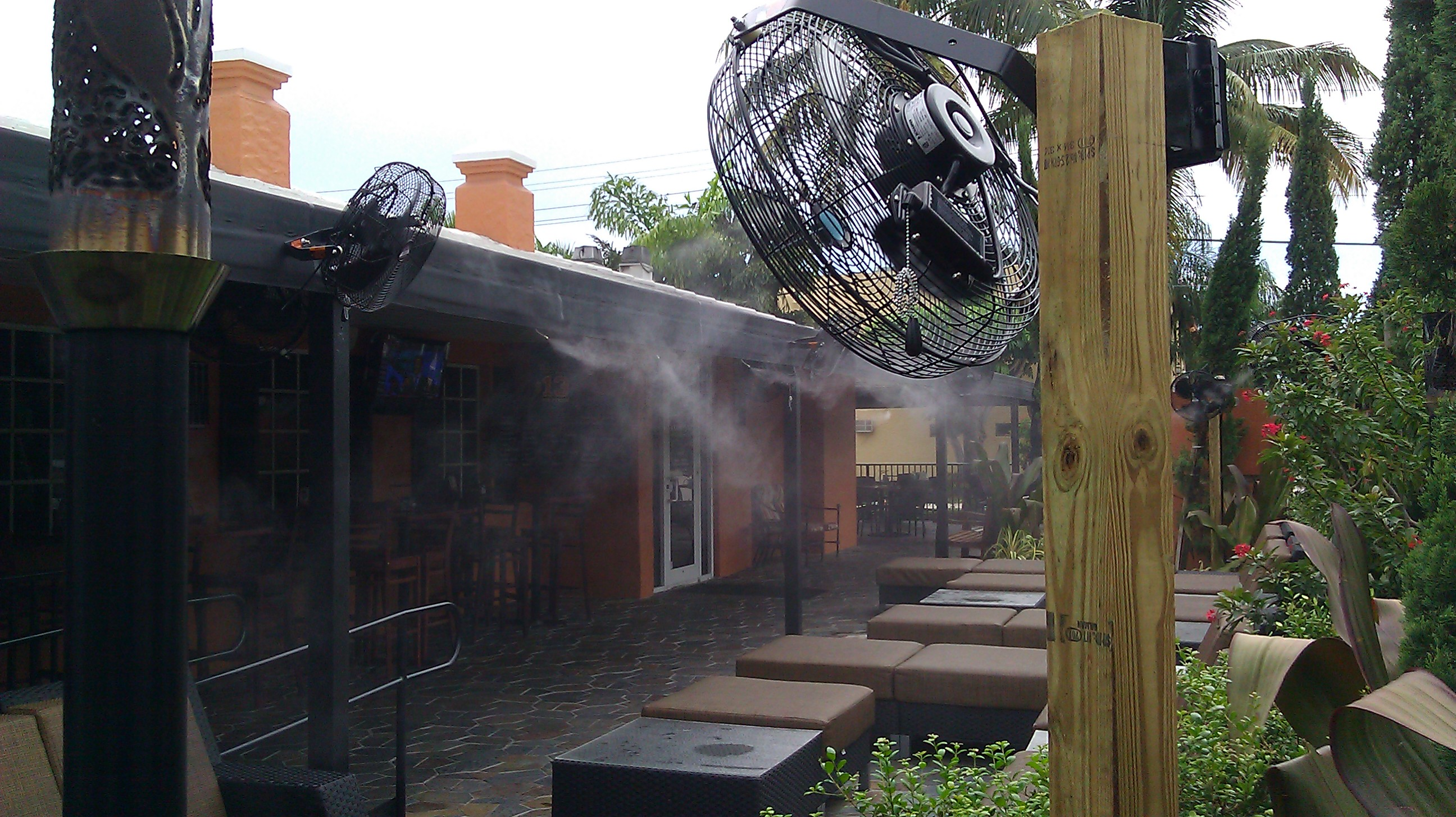 Anthony's Coal Fired Pizza, Delray Beach Misting System