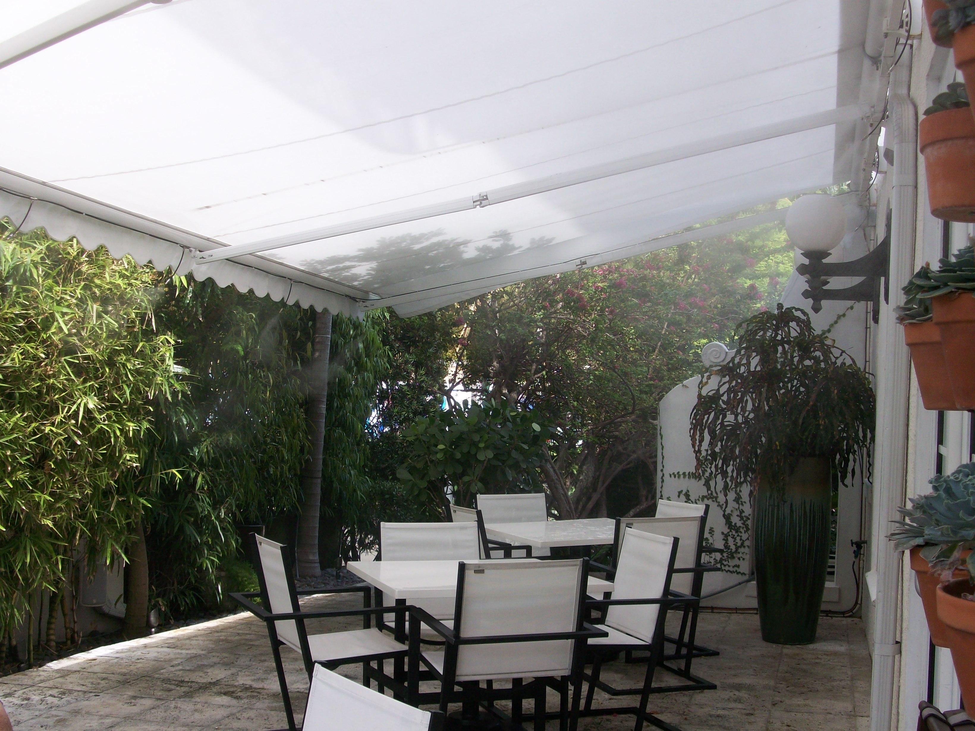 the angler u0027s hotel resort high pressure misting system outdoor