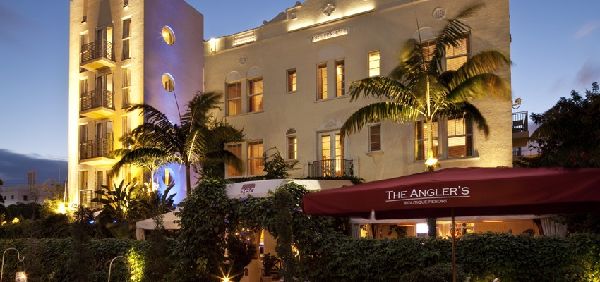 Outdoor Cooling Systems Installed A High Pressure Misting System at this South Beach boutique hotel.