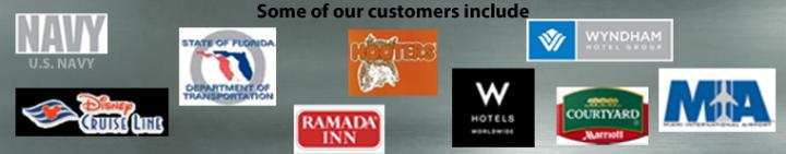 Some of our customers include.